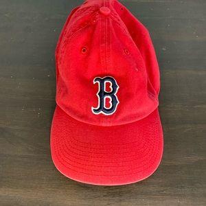 Boston Red Sox baseball hat full back